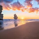 12 Apostles with Marshmallow Skies by Ray Warren