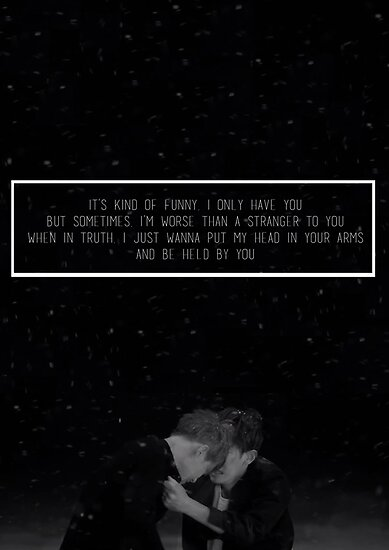 Quot Exo Sing For You Lyrics Quot Poster By Skiesofaurora