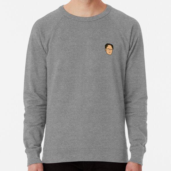 Dwight Schrute Mini Head Lightweight Sweatshirt