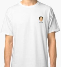 Dwight Schrute Mini Head - Question Classic T-Shirt