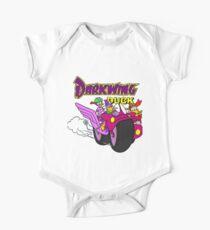 Darkwing-Enten-Motorrad Baby Body Kurzarm