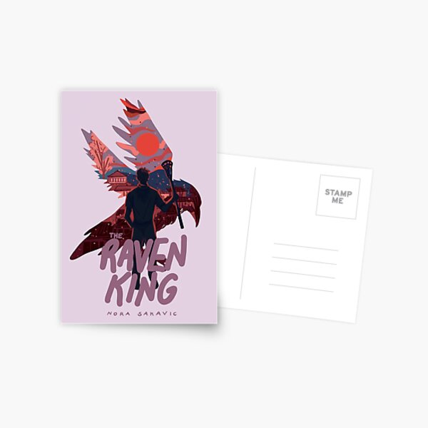 The Raven King Book Cover Postcard