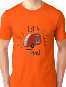 Retro Teardrop Camper  Unisex T-Shirt