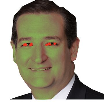 Ted Cruz, Confirmed Lizard poster by Memegode