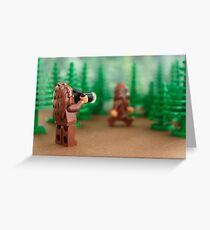 Bigfoot Sighting! Greeting Card
