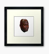 Jordan Crying Framed Print