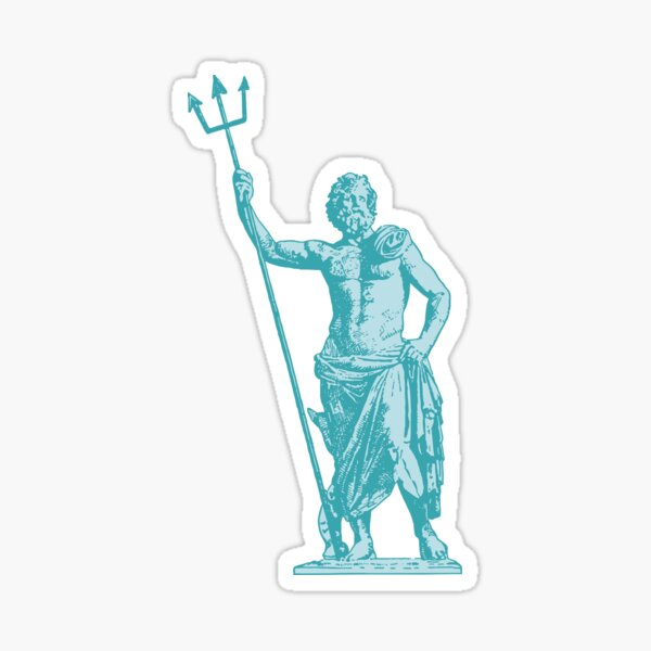 Poseidon OCEAN BREEZE Sticker