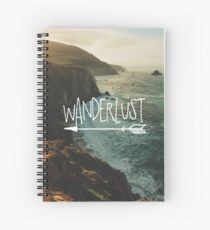 Wanderlust Big Sur Spiral Notebook