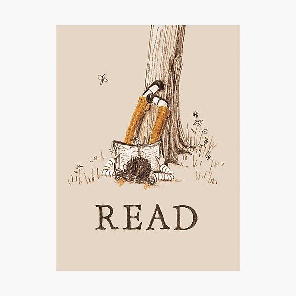 READ print + poster  Photographic Print