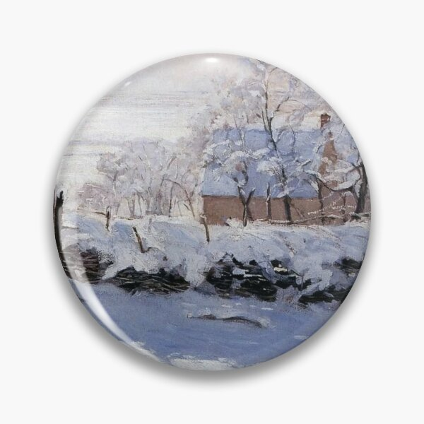 Claude Monet - French painter Pin