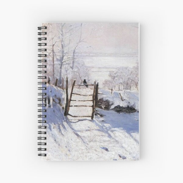 Claude Monet - French painter Spiral Notebook