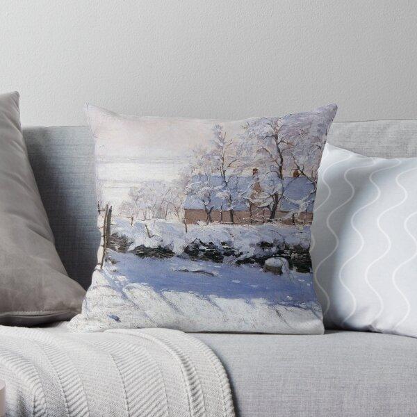 Claude Monet - French painter Throw Pillow