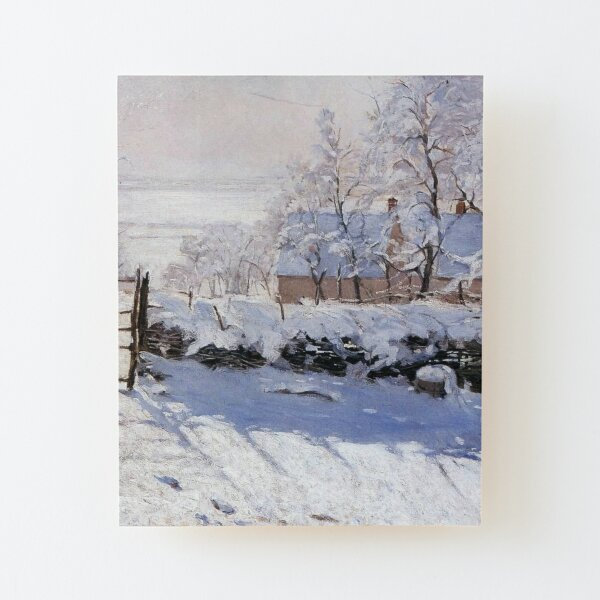 Claude Monet - French painter Wood Mounted Print