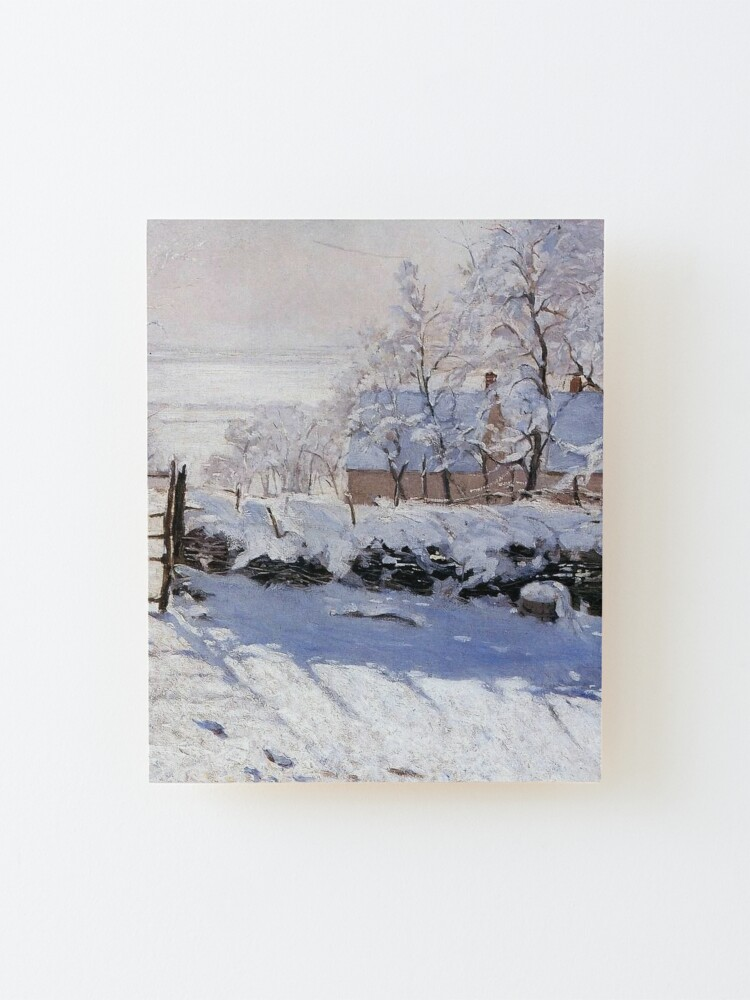 Alternate view of Claude Monet - French painter Mounted Print