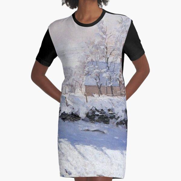 Claude Monet - French painter Graphic T-Shirt Dress