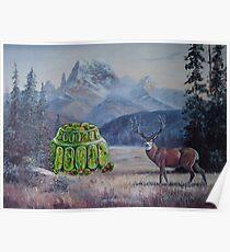 Boreal Jello Mold with Buck Poster