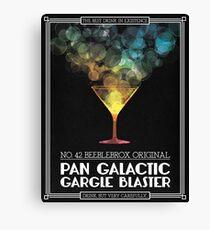 Pan-Galactic Gargle Blaster Poster Canvas Print