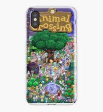 Animal Crossing Poster iPhone Case/Skin