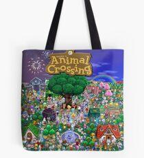 Animal Crossing Poster Tote Bag