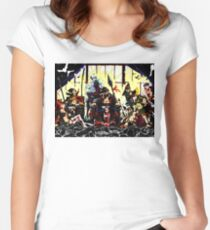 The three kings Women's Fitted Scoop T-Shirt