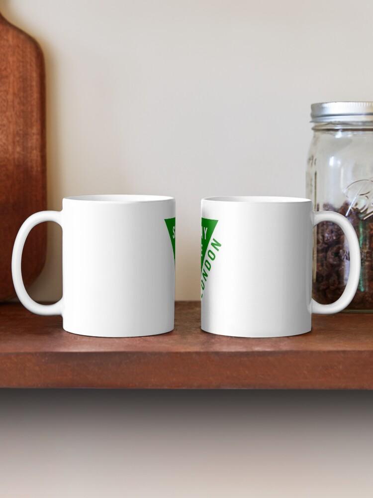 Alternate view of Green Logo Mug