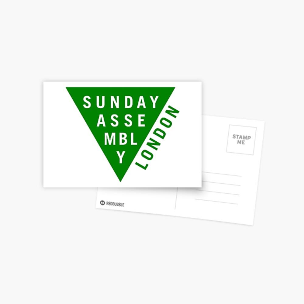 Green Logo Postcard