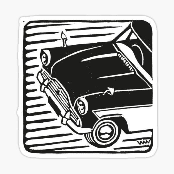 Ford Zephyr MkII Sticker
