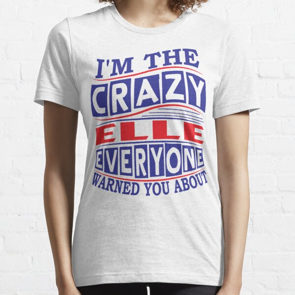Funny Womens t shirt Hot YOUR TEXT Everyone Warned Customised T-SHIRT Birthday