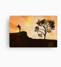Freedom Concept Background 2 Canvas Print