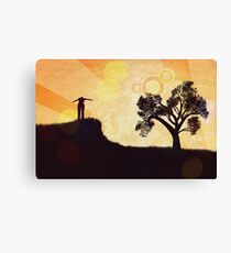 Freedom Concept Background 3 Canvas Print