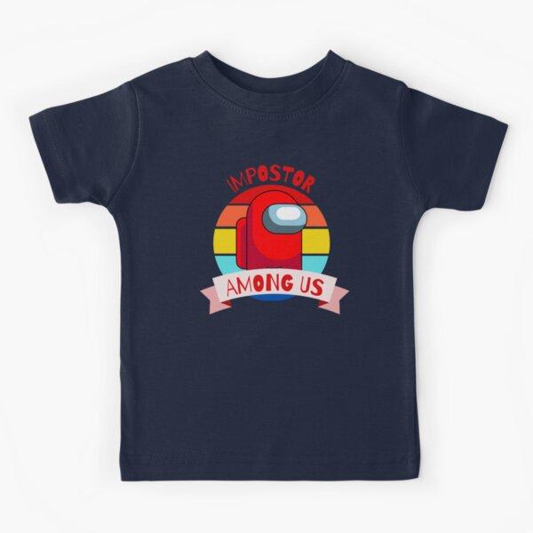 Entre nosotros impostor Camiseta para niños