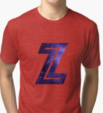 The Letter Z - Space Tri-blend T-Shirt
