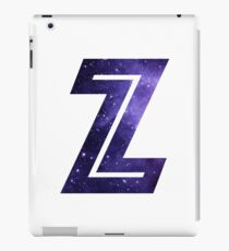 The Letter Z - Space iPad Case/Skin