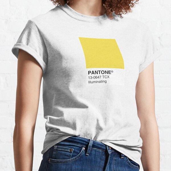 Pantone Illuminating Color of the year 2021 Classic T-Shirt