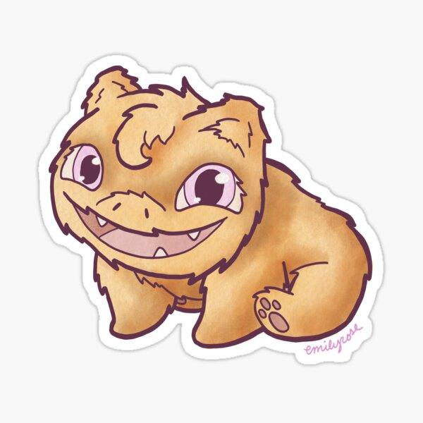 Sunbear's Big Goofy Smile Sticker