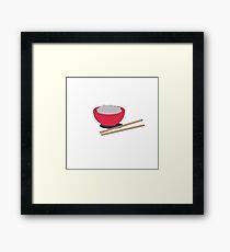 Asian rice  Framed Print