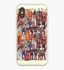 The party doesn't start until the Doctor walks in...twelve times iPhone Case