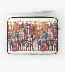 The party doesn't start until the Doctor walks in...twelve times Laptop Sleeve