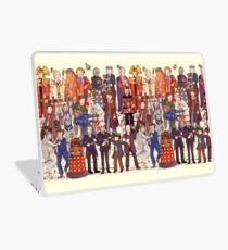 The party doesn't start until the Doctor walks in...twelve times Laptop Skin