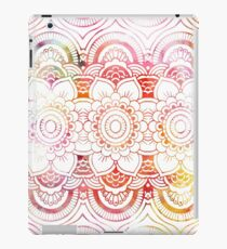 Vinilo o funda para iPad Watercolor floral pattern mandala handdrawn custom