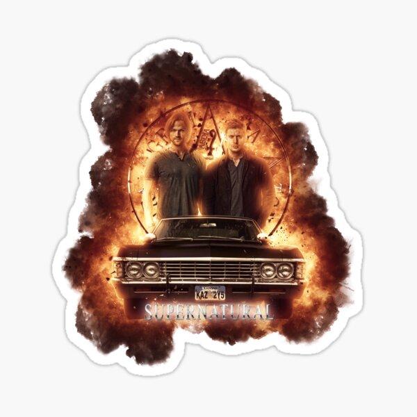 Supernatural Explosion 3 Sticker