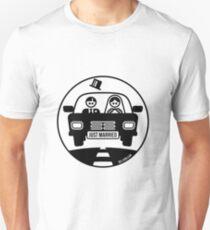 Just Married – Honeymoon (1C) Slim Fit T-Shirt