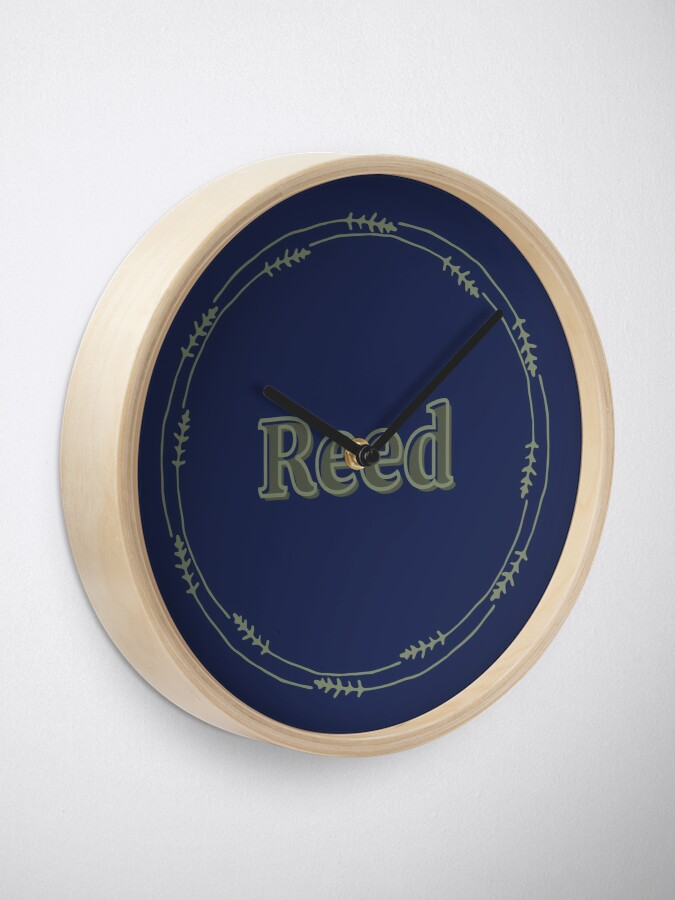 Alternate view of Reed Clock