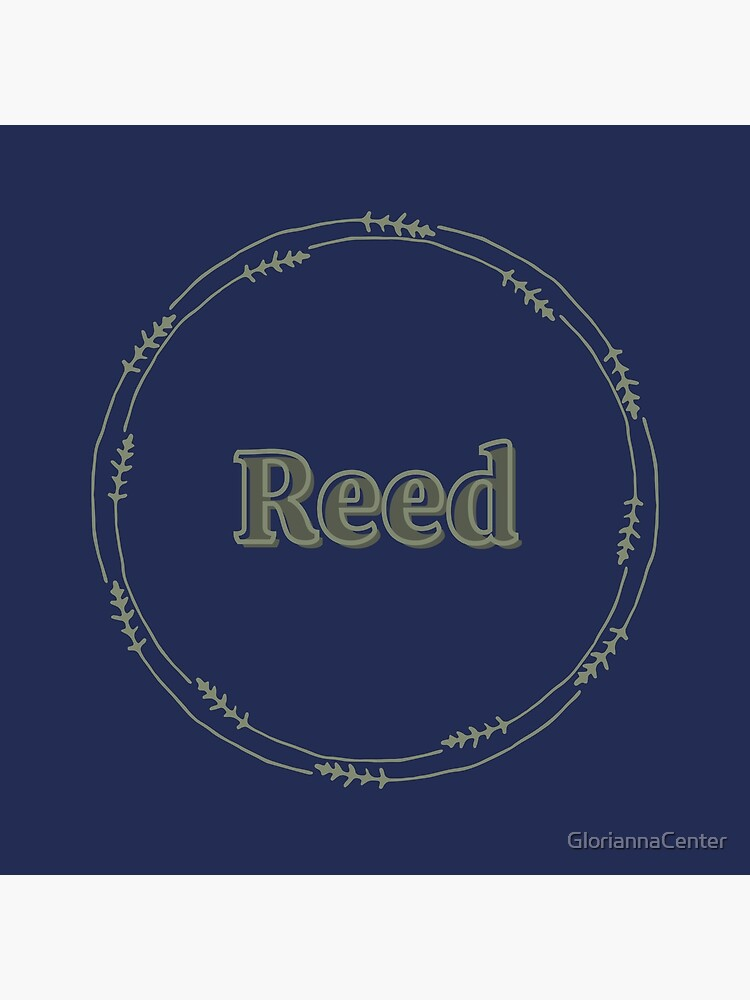 Reed by GloriannaCenter