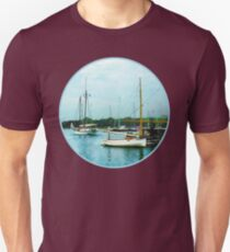 Boats on a Calm Sea Unisex T-Shirt