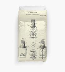 Automatic Fire sprinkler-1888 Duvet Cover