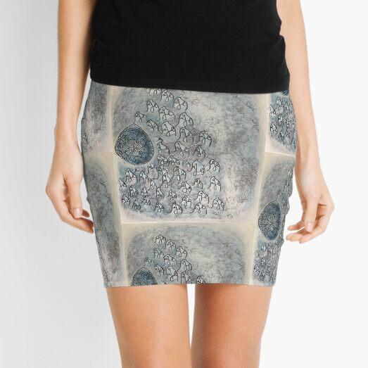 ME, self-portrait in initials Mini Skirt