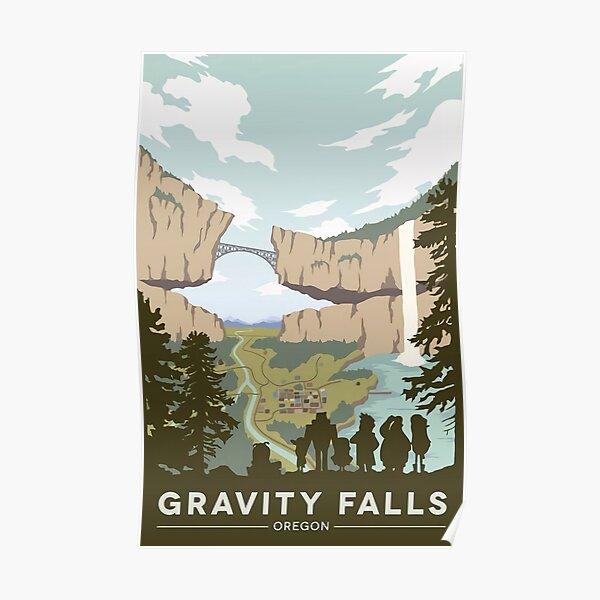 Parque Nacional Gravity Falls Póster