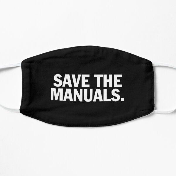 Sauvegardez le t-shirt des manuels. Conception en édition limitée! Masque sans plis