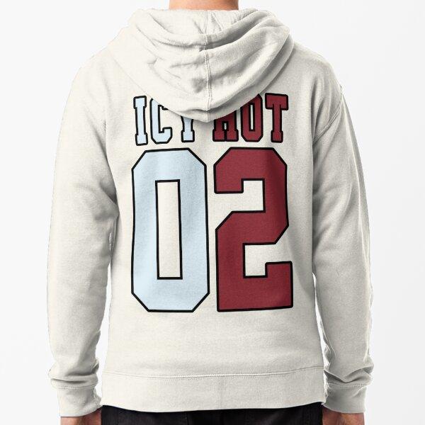 Icy Hot - Todoroki Shouto Sport Jersey  Zipped Hoodie